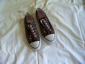 Airwalk brown polka dot sneakers - new