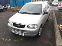 Suzuki Alto 1.1 auto GL***ENGINE /AUTO GEARBOX VERY GOOD **SPARE OR REPAIR