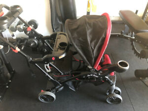 Double Stroller - Sit and Stand