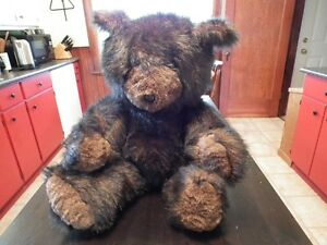 Gorgeous Hand Made JUMBO Teddy Bear
