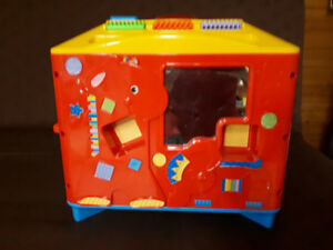 Fun learning activity center with sounds.