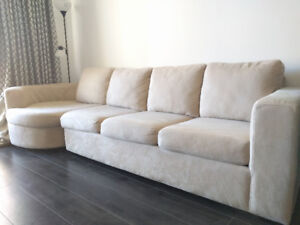 Sofa/Couch for sell - 3 seats plus island - GREAT VALUE
