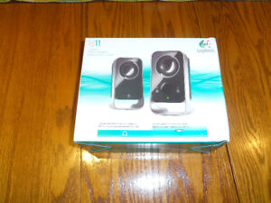 Logitech IS 11 Stereo Speakers (In original sealed carton)