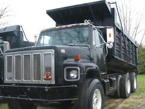 International Tandem Dump Truck