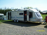1998 30 ft Award trailer and truck