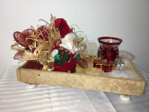 Christmas Table Centrepiece or Mantle Decor