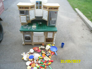 step 2  kids kitchen ,also fisher price aiport and town