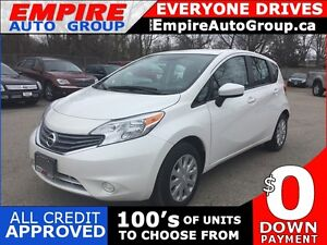 2015 NISSAN VERSA SV * REAR VIEW CAMERA * POWER GROUP * LOW KM