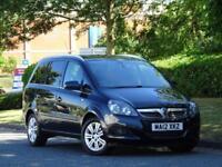 7 SEATER Vauxhall Zafira 1.6i 2012 Design +HEATED SEATS + F+R PARKING SENSORS