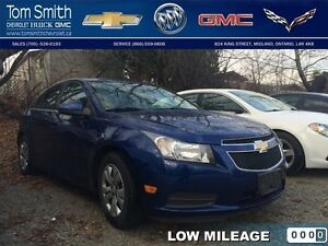 2013 Chevrolet Cruze LT Turbo   - Low Mileage