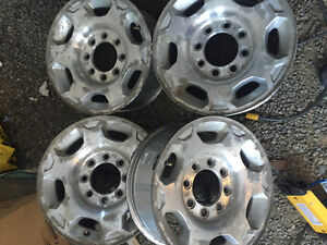 2008 chev/GM 8 bolt rims and tires