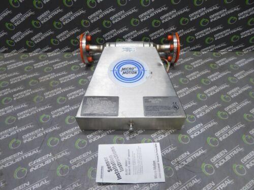"NEW Micro Motion DS040S113SU Mass Flow Sensor 150# Ideal A182 1/2"""