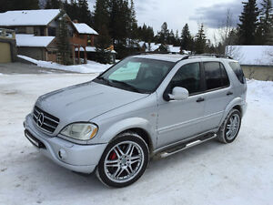 2000 Mercedes-Benz M-Class 55 AMG SUV, Crossover, very clean.