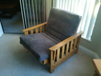 Indiana Lounger Futon Chair