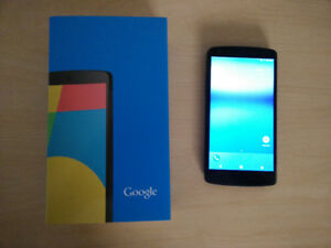 Unlocked LG Nexus 5 16GB android oreo (twrp, iphone, samsung)