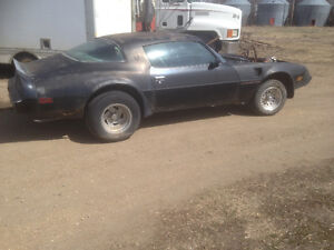 Wanted 1980 trans am parts