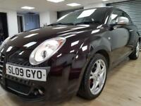 Alfa Romeo MiTo 1.4 16V Veloce BLACK BLUETOOTH PARKING SENSORS WARRANTY FULL SH