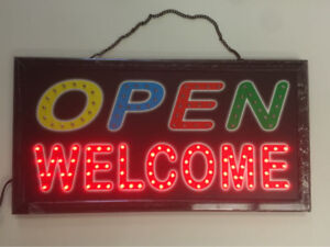$19.99 Electric Board Display Led Open Sign