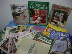Christmas Cross stitch books,patterns and others Moose Jaw Regina Area image 1