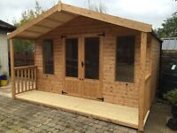 Quality custom made garden sheds, garden buildings and work cabins.