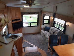 2004 Glendale Titanium 28E33 5th wheel