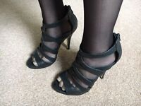 New look size 3 uk zip up gladiator shoes