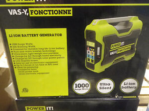 POWER IT! Li-Ion Battery Generator (brand new in the box)
