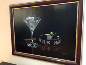 Tableau authentique du peintre Micheal Godard !