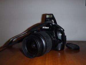 Nixon SLR d3000 + lens