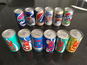 Canettes Coke Et Pepsi Collection