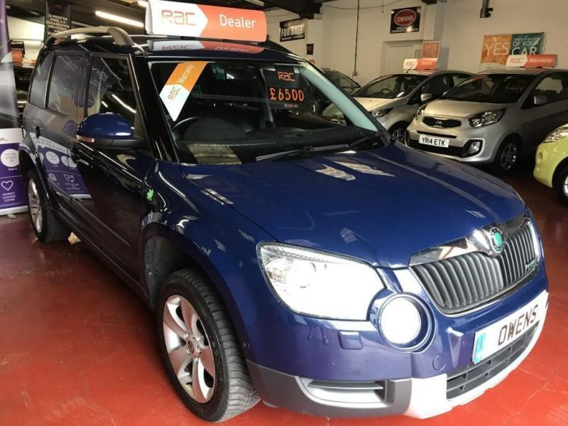 2011 (61) SKODA YETI 1.6 ELEGANCE GREENLINE II TDI CR 5DR Manual