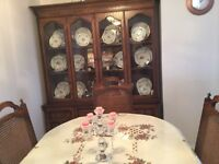 Dinning table + China cabinet