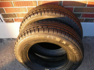 Selling 2 Michelin X M+S 130 tires 185/70r14