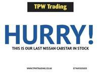2006 55 NISSAN CABSTAR 3.0 34.10 SWB TD 105 BHP* LOW MILES* DIESEL