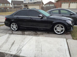 2008 Mercedes-Benz C230 Black Exterior