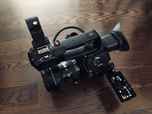 Canon C100 M2 with low usage . Body only and 2 Batteries .