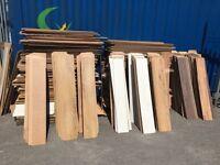 Free scrap laminate flooring