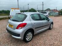 2009 Peugeot 207 1.4 S 5dr [AC] only 60000 miles fsh air con HATCHBACK Petrol M