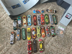 Tech Deck Collection and Ramps