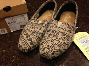 TOMS - Brand New with tags size 7