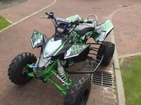 Suzuki ltr 450 road legal racing tuned very quick 2007 registered