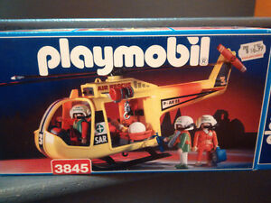 Playmobil Rescue Helicopter yellow (3845)