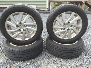 Yokohama Tires on Alloy Rims