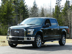 """2015 Ford F150 Crew Cab XTR with the FX4 Off Road Pkg 20"""" Wheels"""