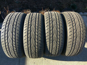 Like New Four Yokohama Avid Envigor All Season Tires 215/55/17