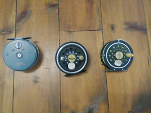 Fly fishing reels 35$ each
