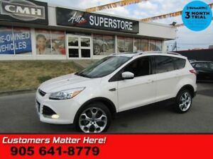 2014 Ford Escape Titanium  AWD (NEW TIRES) LEATHER ROOF NAV CAM