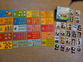 Counting puzzle and Memory game
