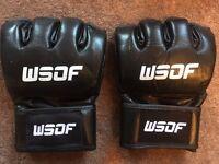 MMA WSOF GLOVES - RARE !!!!!