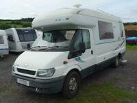 Auto Sleeper Amethyst 4 Berth End Kitchen 4 Travelling Seats Motorhome For Sale